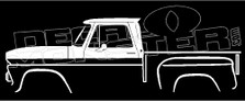 Chevrolet C10 Stepside 1964-1966 Classic Truck Decal Sticker