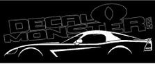 Dodge Viper 2nd Generation Coupe SRT-10 Decal Sticker