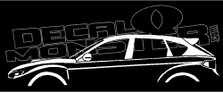 Subaru Impreza WRX STI 5-Door GH Hatch 2007-2011 Decal Sticker