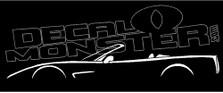 Chevrolet Corvette C5 Convertible Decal Sticker
