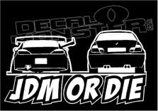 JDM or Die Finger Decal Sticker