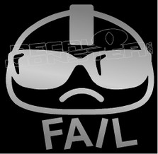 JDM Fail Decal Sticker