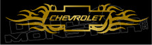 Chevy Tribal Flames 1 Decal Sticker
