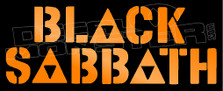 Black Sabbath Band Silhouette 1 Decal Sticker