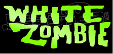 White Zombie Band Decal Sticker
