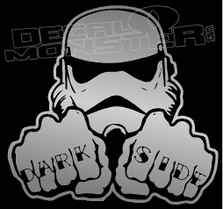 Storm Trooper Dark Side Decal Sticker