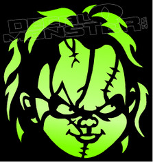 Chucky Horror Movie 1 Decal Sticker