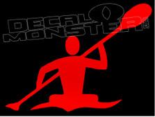 Kayak Life 1 Decal Sticker DM