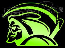 Grim Reaper Side Decal Sticker