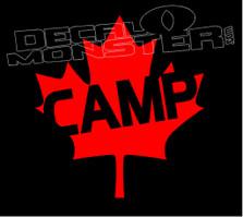 Camp Canada Decal Sticker