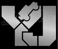 YJ Jeep Decal Sticker