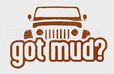 Jeep Got Mud Decal Sticker