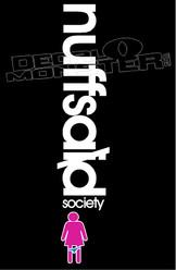 Nuff Said Society JDM Decal Sticker