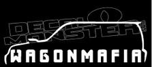Subaru Wagon Mafia Decal Sticker