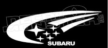 International Subaru Racing Team Decal Sticker