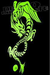 Mystical Dragon Decal Sticker