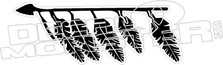 Feathers Arrow Native decal