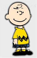 Charlie Brown Silhouette 3 Decal Sticker