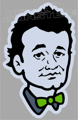 Bill Murray Chive 1 Decal Sticker