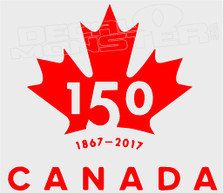 Canada 150 Pilot Editon 1 Decal Sticker
