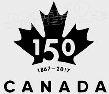 Canada 150 Pilot Editon 2 Decal Sticker