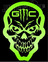 GMC Skull Monster Edition 1 Decal Sticker