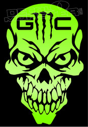 GMC Skull Monster Edition 2 Decal Sticker