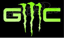GMC Logo Monster Edition Decal Sticker