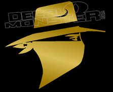 Skoal Bandit Silhouette Decal Sticker