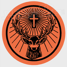 Jagermeister Deer Drink Decal Sticker