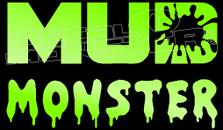 Mud Monster 4x4 Decal Sticker