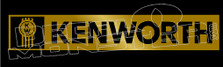 Kenworth Trucks Badge Style 1 Decal Sticker