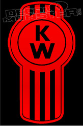 Kenworth Trucks Badge Style 3 Decal Sticker