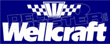 Wellcraft Boat Decal Sticker