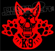 Fierce K9 Style 1 Dog Decal Sticker