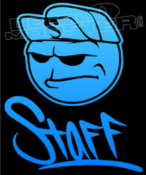 Staff Style 1 JDM Decal Sticker