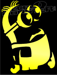 Dissapointed Minion Decal Sticker