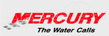 Mercury Outboard Logo The Water Calls Boat Decal Sticker