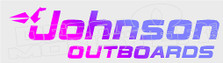 Johnson Outboards Boat Decal Sticker