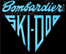 Bombardier SKI-DOO Original Decal Sticker