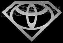 Super Toyota Decal Sticker