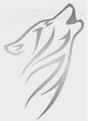 Arctic Wolf Howling 1 Decal Sticker DM.jpg