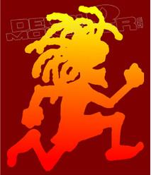 ICP Hatchet Man Rasta Edition Music Decal Sticker DM