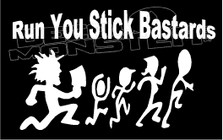 ICP Hatchet Man Run Stick Bastards Music Decal Sticker DM