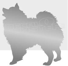 Love Pomerainian Dog Silhouette 4 Decal Sticker DM