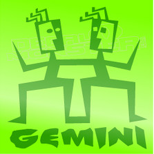 Astrological Zodiac Sign Gemini Decal Sticker DM