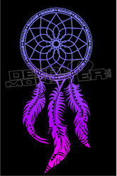Dreamcatcher Silhouette 45 Decal Sticker DM