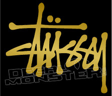 Stussy Brand Skate Logo Decal Sticker DM