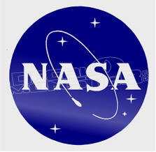 Nasa Brand Logo Decal Sticker DM