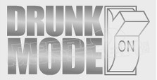 Drunk Mode On Alcohol Decal Sticker DM